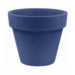 Pot Maceta diamètre 80 x hauteur 69 cm, simple paroi, Vondom bleu marine