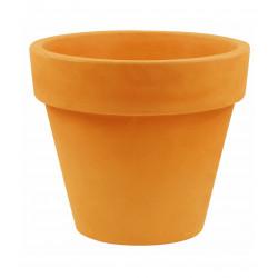 Pot Maceta diamètre 120 x hauteur 104 cm, simple paroi, Vondom orange