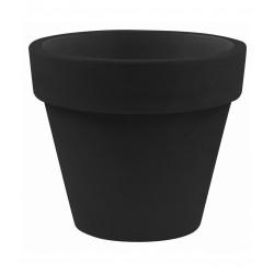 Pot Maceta diamètre 120 x hauteur 104 cm, simple paroi, Vondom noir