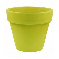 Pot Maceta diamètre 120 x hauteur 104 cm, simple paroi, Vondom vert pistache