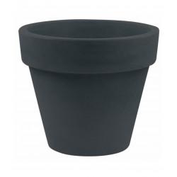 Pot Maceta diamètre 160 x hauteur 138 cm, simple paroi, Vondom gris anthracite