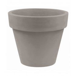 Pot Maceta diamètre 200 x hauteur 172 cm, simple paroi, Vondom taupe