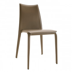 Chaise design Miss, Midj taupe