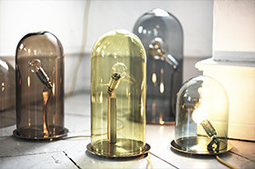 Lampe Glow in a dome