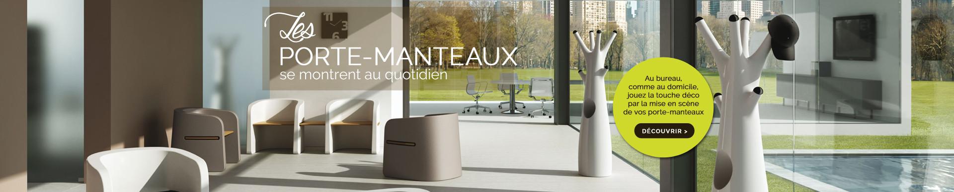 Les portes-manteaux design, pour le bureau et pour son intérieur contemporain