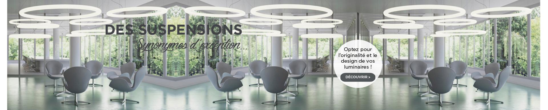 Optez pour l'originalité et le design de vos luminaires !