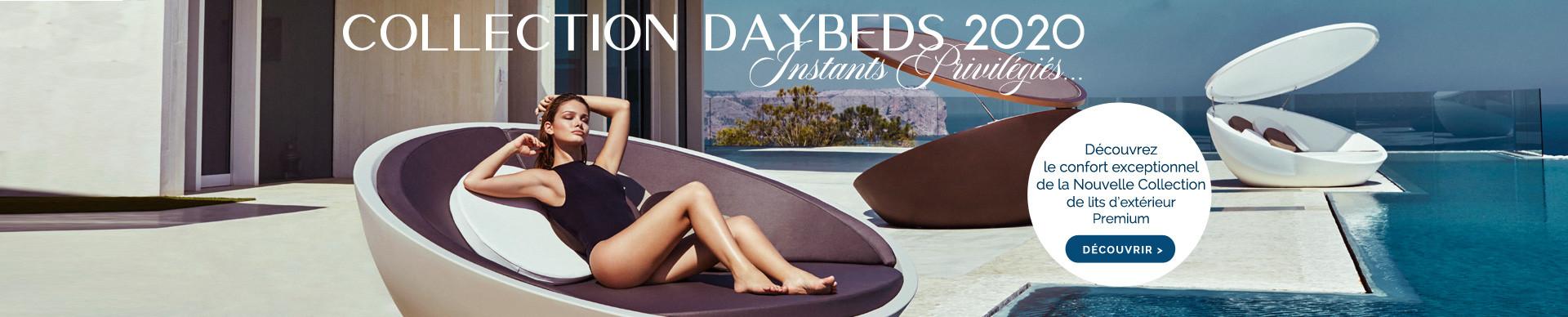 Découvrez la nouvelle collection de lits d'extérieurs Premiums !
